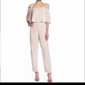 Sugarlips soft pink jumpsuit Small
